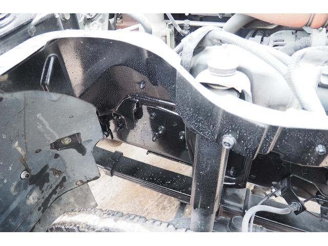 外装仕上げ済み 新明和製 パッカー車 プレス式 4.6立米 コンテナ反転装置付き 塵芥車 汚水タンク 連続スイッチ 積載1.7t 内外装クリーニング中(35枚目)