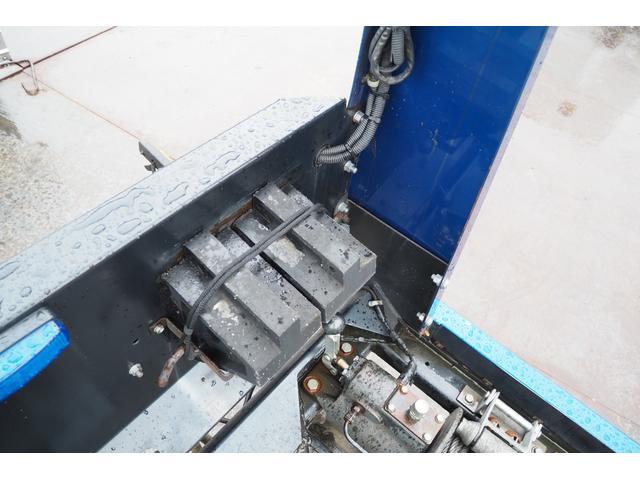 極東開発製 フラトップ フルフラット セーフティーローダー あおりレスタイプ スライド ウインチ ラジコン付き 荷台内寸570幅207cm 積載3.6t 内フック付き バックカメラ ETC ナビ付(35枚目)