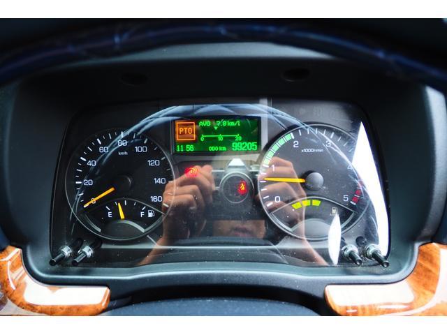 極東開発製 フラトップ フルフラット セーフティーローダー あおりレスタイプ スライド ウインチ ラジコン付き 荷台内寸570幅207cm 積載3.6t 内フック付き バックカメラ ETC ナビ付(80枚目)