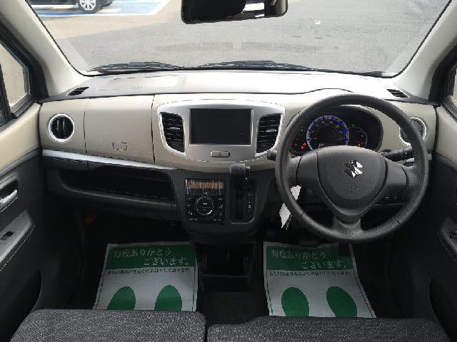 スズキ ワゴンR FXリミテッド レーダーブレーキサポート装着車 キーフリー