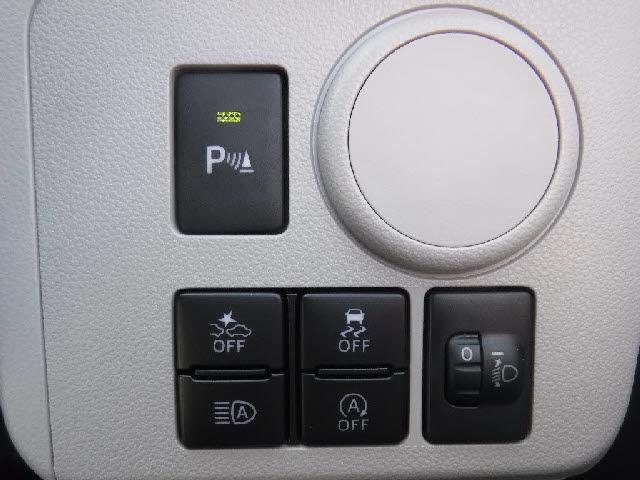 衝突軽減装置付き☆運転をサポートしてくれます☆車体の前後にコーナーセンサーが付いています!障害物を検知すると音で危険を知らせてくれます☆