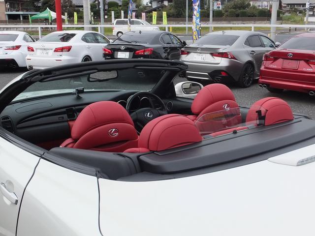 レクサス SC SC430セミアニリン赤革マークレビンソン地デジリヤスモーク