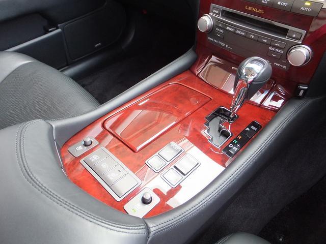 レクサス LS 460SZ IパッケージTOM'sフルエアロ黒革SRプリクラ