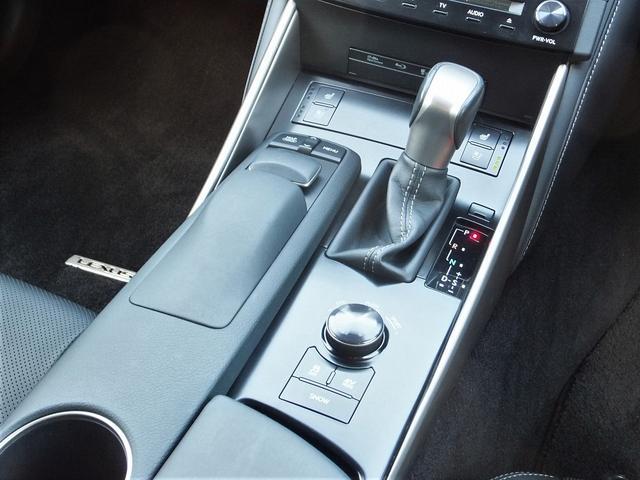 レクサス IS IS300hバージョンL黒革モデリスタPCSレダクル19AW