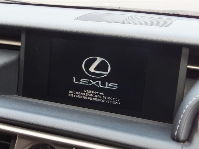 レクサス IS IS350FスポーツTRDエアロマフラー黒革LEDレーダーC