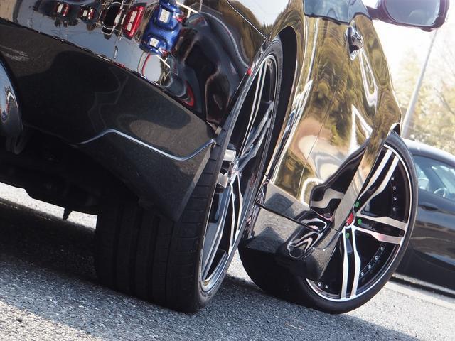 200GTt-SPカーボンエアロ黒革SR車高調20AWマフラ(7枚目)