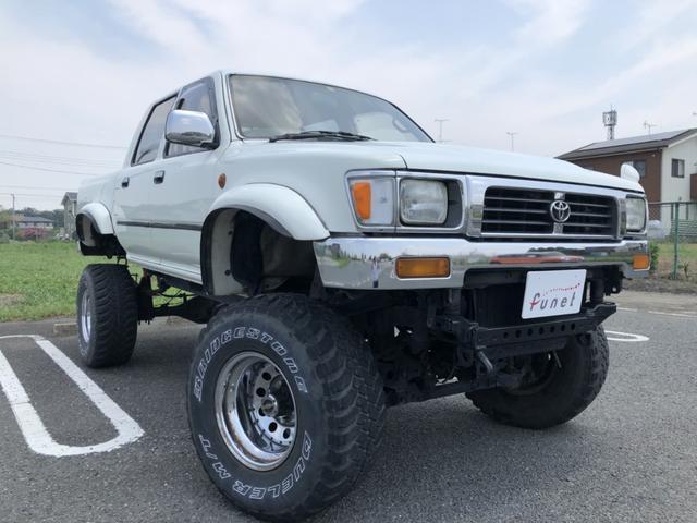 トヨタ ハイラックスピックアップ ダブルキャブ SSR-X