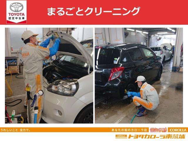 【まるごとクリーニング】エンジンルームもしっかり洗浄。油汚れを洗剤で落とし、丁寧に水洗い。エアーブローでしっかり水分を除去。タイヤホイールも専用洗剤で汚れを除去。タイヤも手磨きし、ワックスで艶出し。