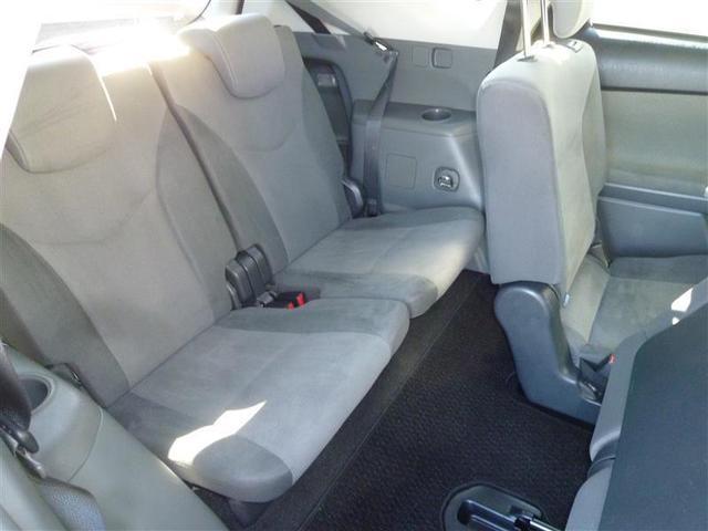 S ワンセグ  メモリーナビ  ETC  乗車定員7人  3列シート  オートエアコン  スマートキー  デュアルエアバッグ  ハイブリッド車(6枚目)