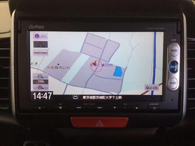 ホンダ N BOX G ターボSSパッケージ TV&ナビ バックカメラ