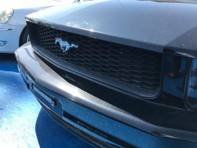 フォード フォード マスタング V6 プレミアム レザーシート ナビ 社外アルミ 左ハンドル