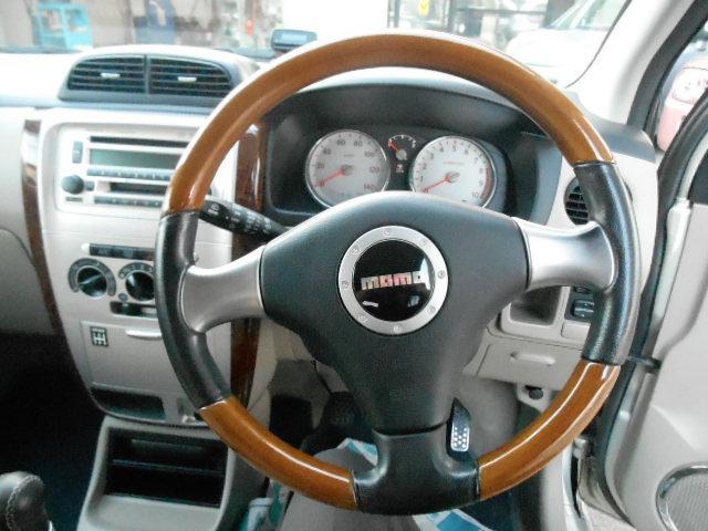 ダイハツ ミラアヴィ RS 5MT ターボ キーレス 14AW ETC モモステ