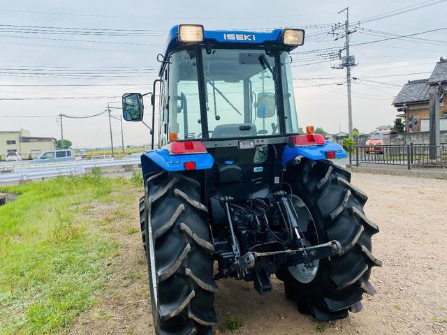 イセキ 常用トラクター エアコンキャビン付 ハイスピード 55馬力 稼働620アワー(11枚目)