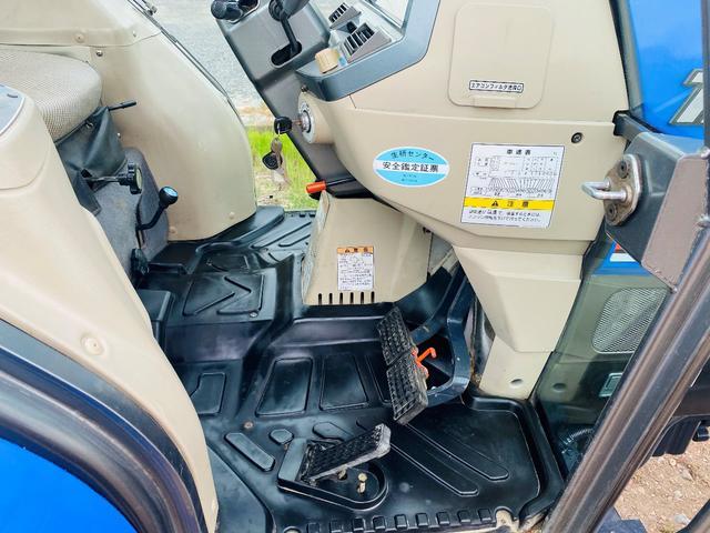 イセキ 常用トラクター エアコンキャビン付 ハイスピード 55馬力 稼働620アワー(31枚目)