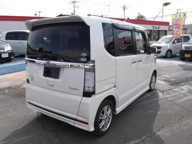 ホンダ N BOX+カスタム G 車椅子仕様車 スローパ-