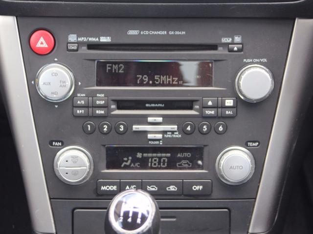 スバル レガシィB4 2.0R 5速マニュアル キーレス CD