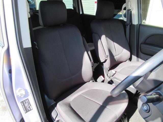 シート色は黒系で落ち付いた雰囲気の車内です◇またシートは綺麗な状態を保っています◇