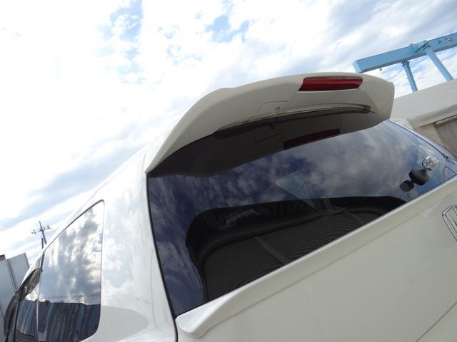 ホンダ オデッセイ アブソルート 車高調 ミラーレーダー エアロ 無限バイザー