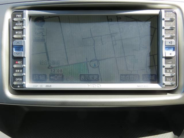 トヨタ ヴォクシー 後期型Zキラメキ 両側電動スライドHIDライト純正ナビ