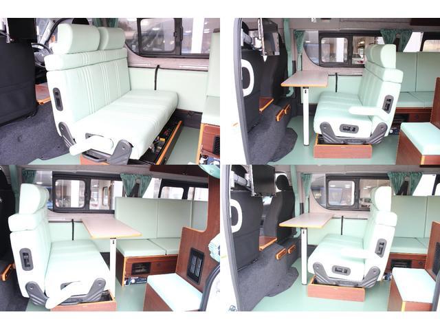 トヨタ ハイエースバン キャンピングカー リンエイ製バカンチェス FF オーニング