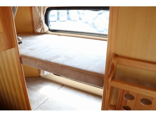 キャンピング AtoZ製アミティ 1オーナー 常設2段ベッド(69枚目)
