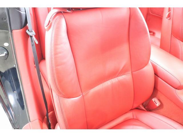 SC430 純正HDDナビ マークレビンソン 赤革シート クルーズコントロール ウッドコンビハンドル DRL GPSレーダー リバース連動ミラー ステアリングスイッチ キーレス スカッフイルミプレート(44枚目)