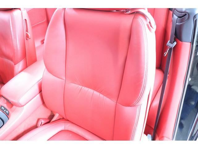 SC430 純正HDDナビ マークレビンソン 赤革シート クルーズコントロール ウッドコンビハンドル DRL GPSレーダー リバース連動ミラー ステアリングスイッチ キーレス スカッフイルミプレート(48枚目)