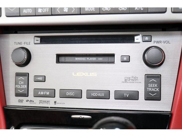 SC430 純正HDDナビ マークレビンソン 赤革シート クルーズコントロール ウッドコンビハンドル DRL GPSレーダー リバース連動ミラー ステアリングスイッチ キーレス スカッフイルミプレート(63枚目)