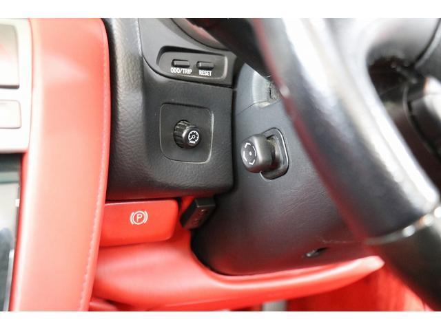 SC430 純正HDDナビ マークレビンソン 赤革シート クルーズコントロール ウッドコンビハンドル DRL GPSレーダー リバース連動ミラー ステアリングスイッチ キーレス スカッフイルミプレート(72枚目)