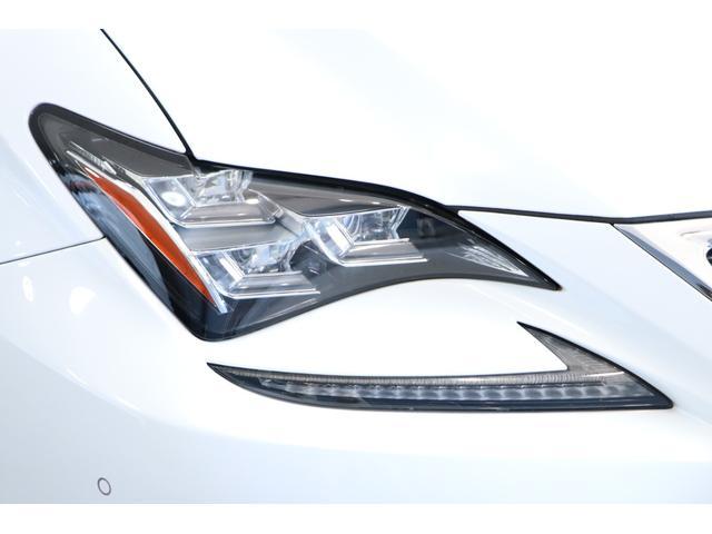 RC300h Fスポーツ ナビ マークレビンソン 黒革エアシート サンルーフ レーダークルーズ プリクラッシュ レーンディパーチャーアラート オートマチックハイビーム BSM 3眼LEDヘッドライト ステアリングヒーター(29枚目)