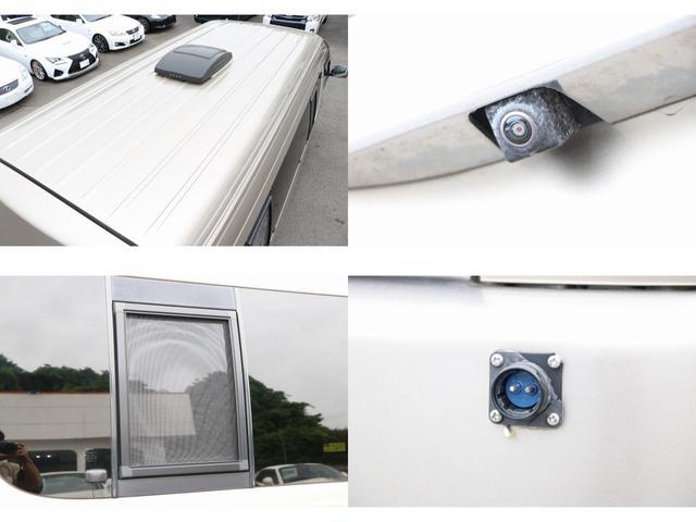 トイファクトリー製ランドティピー ナビ Bカメラ ETC フリップダウンモニター ツインサブバッテリー 走行充電 外部電源・充電 シンク 外部シャワー 冷蔵庫 FFヒーター ベンチレーター 1オーナー(15枚目)