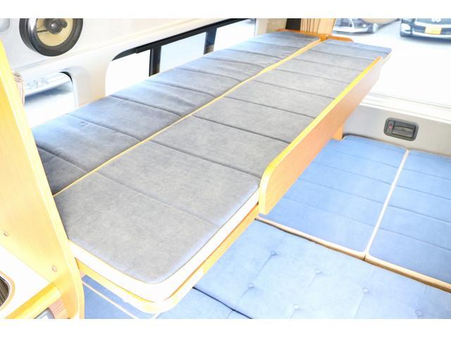トイファクトリー製ランドティピー ナビ Bカメラ ETC フリップダウンモニター ツインサブバッテリー 走行充電 外部電源・充電 シンク 外部シャワー 冷蔵庫 FFヒーター ベンチレーター 1オーナー(70枚目)