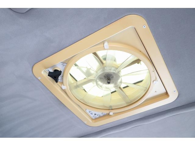 トイファクトリー製ランドティピー ナビ Bカメラ ETC フリップダウンモニター ツインサブバッテリー 走行充電 外部電源・充電 シンク 外部シャワー 冷蔵庫 FFヒーター ベンチレーター 1オーナー(78枚目)