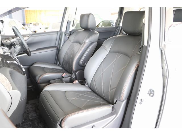 350ハイウェイスタープレミアム 4WD ナビ フリップダウンモニター アラウンドビュー ETC ブラックレザーシート Wサンルーフ レーダークルーズ 踏み違い防止 スカッフイルミ 両側電動スライド パワーバックドア 1オーナー(12枚目)
