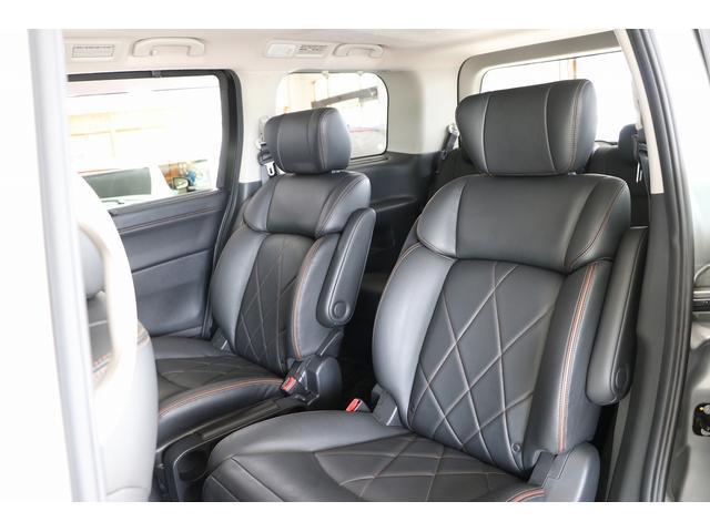 350ハイウェイスタープレミアム 4WD ナビ フリップダウンモニター アラウンドビュー ETC ブラックレザーシート Wサンルーフ レーダークルーズ 踏み違い防止 スカッフイルミ 両側電動スライド パワーバックドア 1オーナー(52枚目)