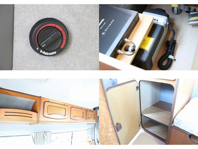 ビークル製ブロス ナビ Bカメラ ETC キーレス サブバッテリー 走行充電 外部電源・充電 シンク 冷蔵庫 FFヒーター 後席モニター サイドオーニング 1オーナー(14枚目)