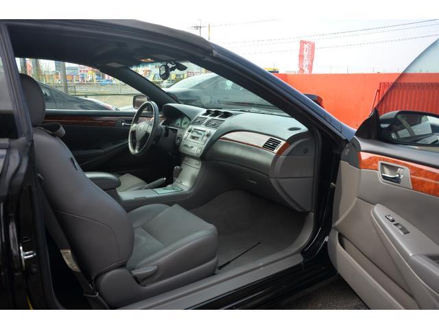 米国トヨタ カムリ ソラーラ SLEコンバーチブル グレー本革Pシート クルコン