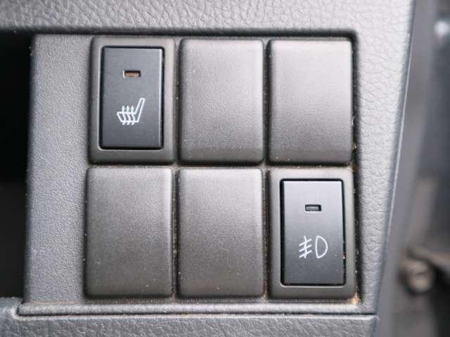 X 4WD プッシュスタート ベンチシート シートヒーター(17枚目)