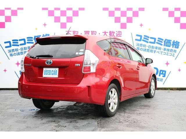 ご成約後に車検2年取得いたします!もちろん車検費用も総額に含まれており、お支払総額は65万8千円です!