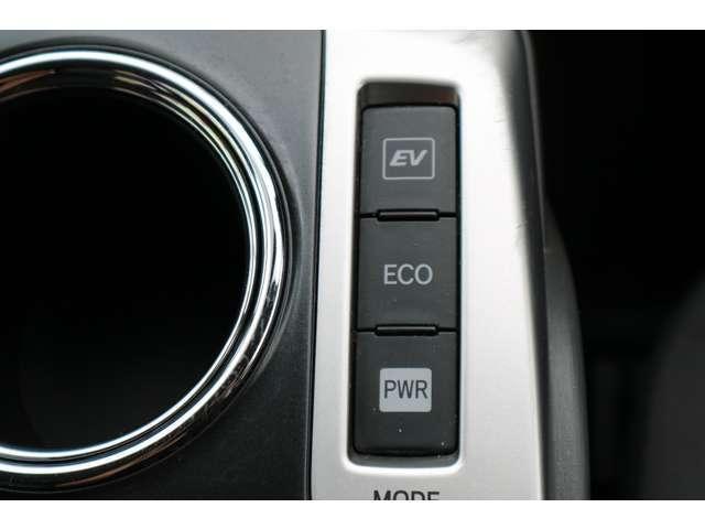 燃費重視でECOモード!加速が欲しい時にはPWRモード!!