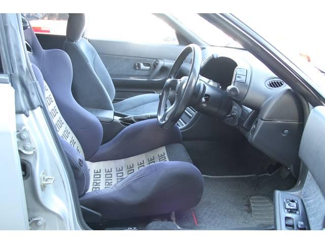 運転席側 BRIDEシート 少し傷みがあります。
