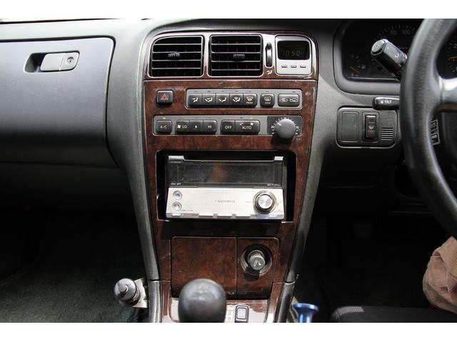 トヨタ クレスタ ツアラーV 純正5速 車高調 前置インタークーラー