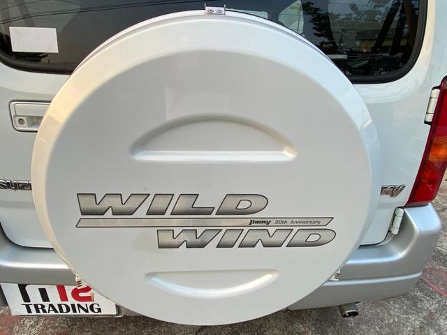 ワイルドウインド 4WD ターボ ワンオーナー ETC アルミホイール(17枚目)