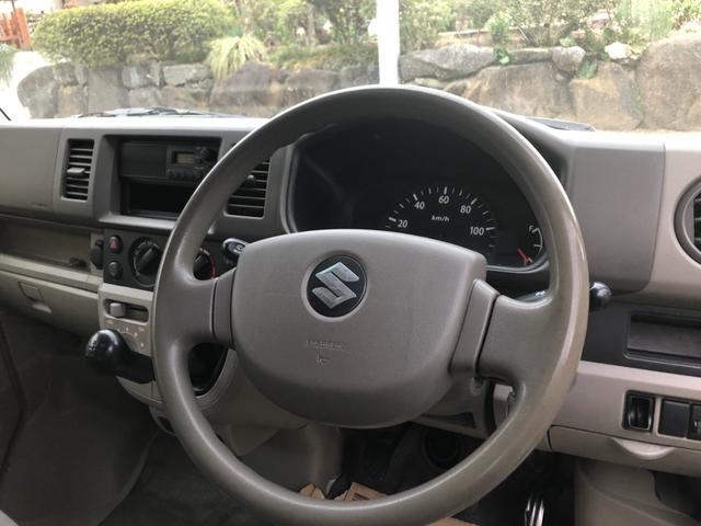 スズキ エブリイ PC Wポンプ交換済 5MT 新品タイヤ・荷室フロア・マット