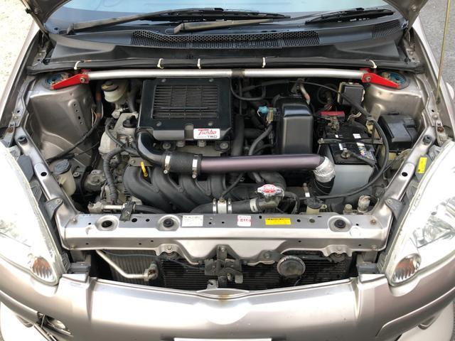 RS POWERED BY TRD TURBO 5速マニュアル 社外ステアリング ユーザー様買取車両(2枚目)