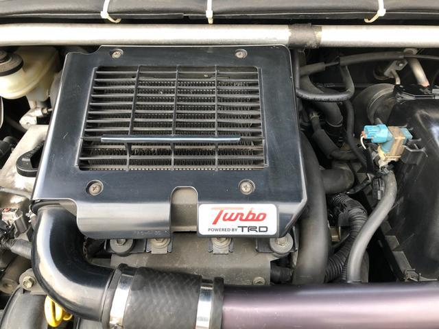 RS POWERED BY TRD TURBO 5速マニュアル 社外ステアリング ユーザー様買取車両(13枚目)