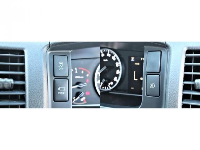 DX ワイド スーパーロング GLパッケージ パーキングサポート・オリジナルフロントスポイラー・オリジナルオーバーフェンダー・オリジナル17インチアルミホイール・グットイヤーナスカータイヤ・ローダウン1.15インチ・フローリング施工・LEDテール(7枚目)
