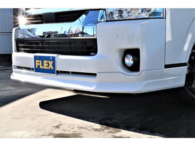 DX ワイド スーパーロング GLパッケージ パーキングサポート・オリジナルフロントスポイラー・オリジナルオーバーフェンダー・オリジナル17インチアルミホイール・グットイヤーナスカータイヤ・ローダウン1.15インチ・フローリング施工・LEDテール(18枚目)