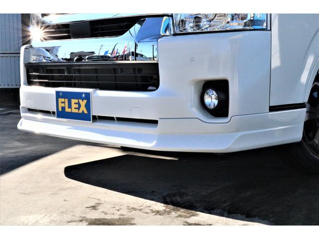 DX ワイド スーパーロング GLパッケージ パーキングサポート・オリジナルフロントスポイラー・オリジナルオーバーフェンダー・オリジナル17インチアルミホイール・グットイヤーナスカータイヤ・ローダウン1.15インチ・フローリング施工・LEDテール(28枚目)