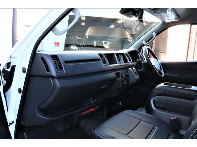 DX ワイド スーパーロング GLパッケージ パーキングサポート・オリジナルフロントスポイラー・オリジナルオーバーフェンダー・オリジナル17インチアルミホイール・グットイヤーナスカータイヤ・ローダウン1.15インチ・フローリング施工・LEDテール(40枚目)